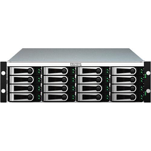 J630SDNX Дисковое хранилище Promise Technology VTrak x30 Series 6G SAS 3U 16 Bay Dual Controller Expansion Chassis