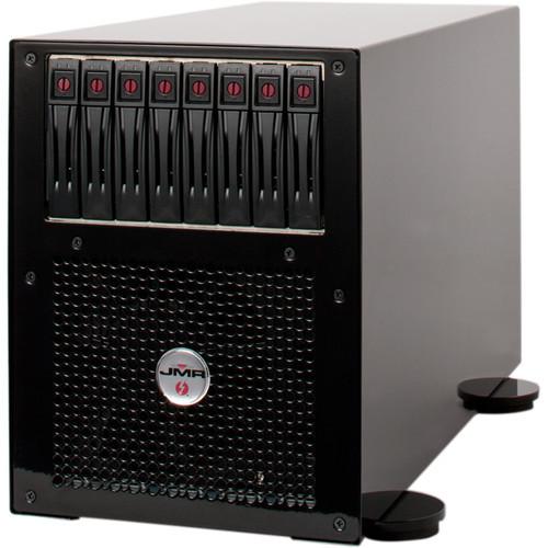 LTNG-XQ-8-DT-B Дисковое хранилище JMR Electronics Lightning XQ PCIe to Thunderbolt 2 Desktop 8-Bay RAID Enclosure