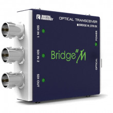 M_OTRS передатчик и приемник видеосигнала DIGITAL FORECAST Bridge M_OTR Mini SDI Optical Transmitter and Receiver Kit