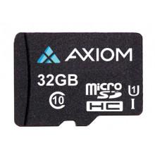 MSDHC10U132-AX Карта памяти Axiom 32GB MicroSDHC Class 10 (UHS-I U1) Flash Card