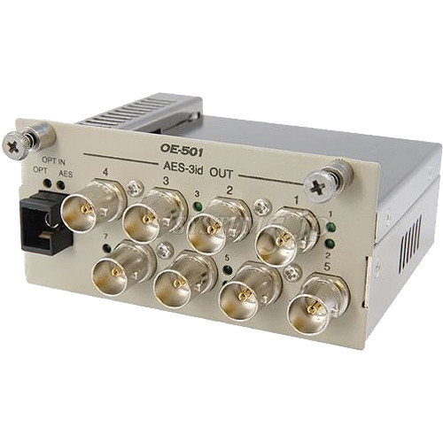 OE-501 Конвертер / преобразователь CANARE AES-3id Optical to Electric Converter