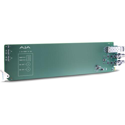OG-FIBER-2R-MM приемник видеосигнала AJA openGear 2-Channel Multi-Mode LC Fiber to 3G-SDI Receiver
