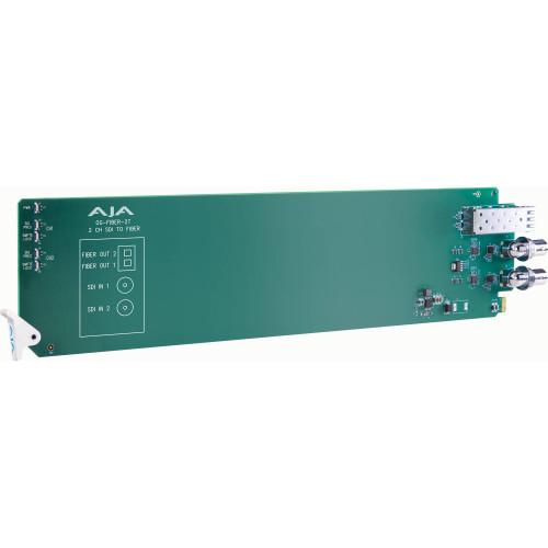 OG-FIBER-2T-X Конвертер / преобразователь AJA openGear Two-Channel 3G-SDI to Fiber Converter