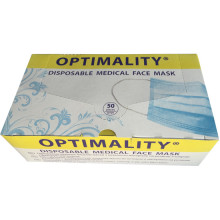 Маска медицинская OPTIMALITY 50шт (OPTIMALITY-50)