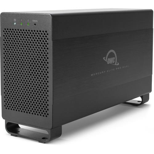 OWCTB2U3MED0GB Дисковое хранилище OWC Mercury Elite Pro Dual 2-Bay Thunderbolt 2 RAID Enclosure