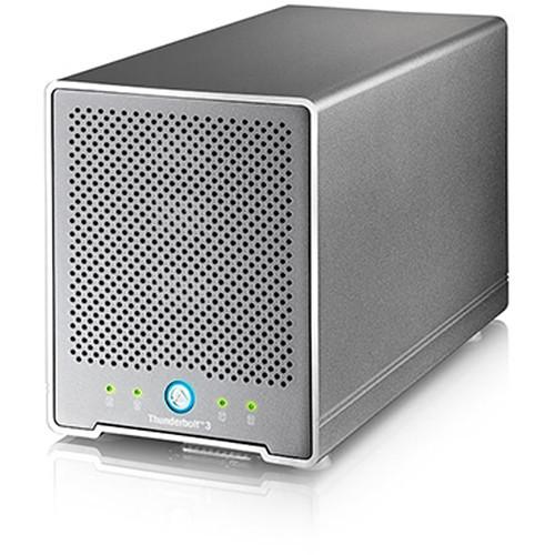 OWCTB3QMLR00GB Дисковое хранилище OWC / Akitio Thunder3 Quad Mini Raid Ready Four-Bay External Thunderbolt 3 Storage Enclosure