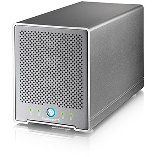 OWCTB3QMSR00GB Дисковое хранилище OWC / Akitio Thunder3 Quad Mini Raid 5 Four-Bay External Thunderbolt 3 Storage Enclosure