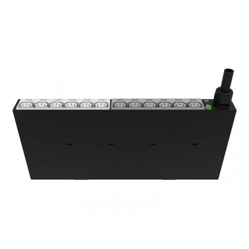 P9Q37A Распределитель питания HPE Basic PDU (1Phase, 3.6kVA, 100-240V, горизонтальный)