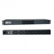 PDU12IEC Распределитель питания Tripp Lite Basic PDU 16A (12 C13 and 2 C19) 100240V C20 1U Rack-Mount Power