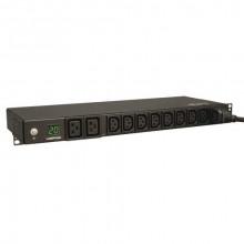 PDUMH20HV Распределитель питания Tripp Lite 3.2-3.8kW Single-Phase Metered PDU, 200-240V (8 C13 and 2 C19), C20 / L6-20P Adapter