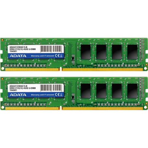 Оперативная память A-DATA Premier DIMM Kit 16GB DDR4-2133MHz CL15 (AD4U213338G15-2)