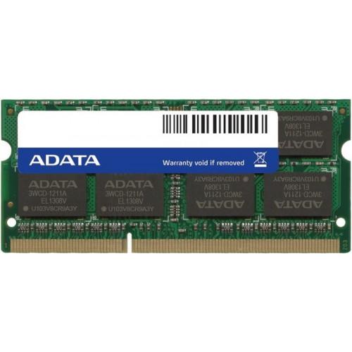 Оперативная память A-DATA Premier SO-DIMM 4GB DDR3-1600MHz CL11 (AD3U1600W4G11-S)