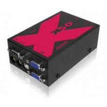 X50-MS2 KVM расширитель Adder X50 Multiscreen 2-Monitor KVM Extender Pair