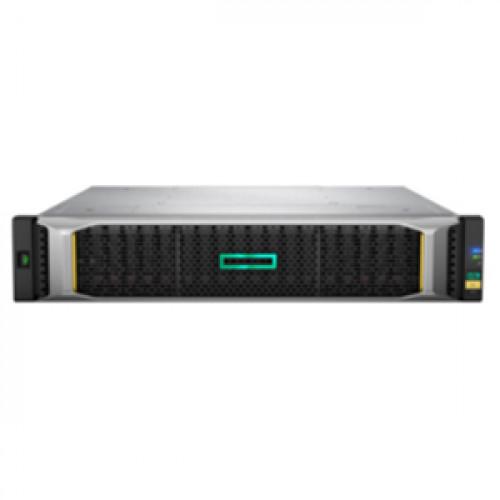 Q1J02A Система хранения данных (СХД) HP MSA 2052 San DC LFF Storage