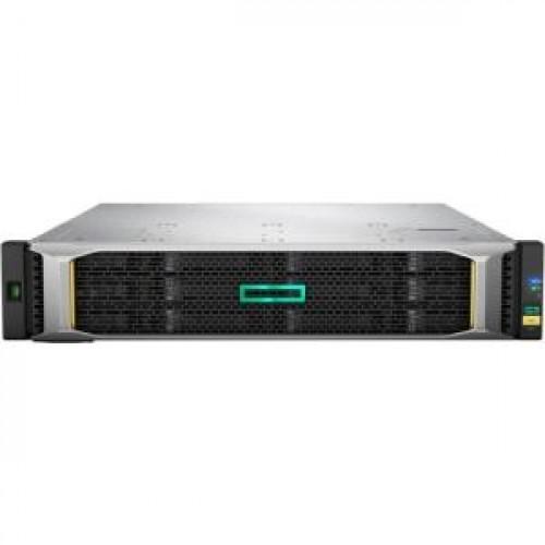 Q2R24A Система хранения данных (СХД) HP MSA 1050 10GBE ISCSI DC LFF Storage