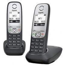 Радиотелефон Gigaset (Siemens) A415 Duo Black