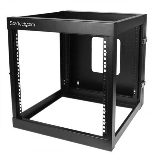 RK1219WALLOH Оборудование для стойки Startech.com 12U 22 inch Depth Hinged Open Frame Wall Mount Server Rack