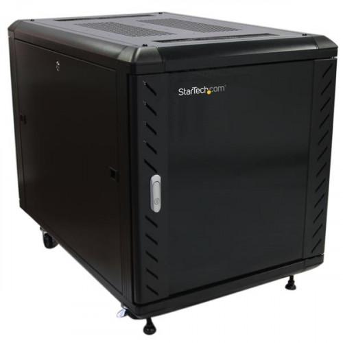 RK1236BKF Оборудование для стойки Startech.com 12U 36 inch Knock-Down Server Rack Cabinet with Casters