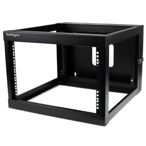 RK619WALLOH Оборудование для стойки Startech.com 6U 22 inch Depth Hinged Open Frame Wall Mount Server Rack