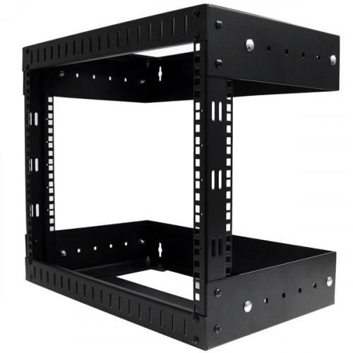 RK812WALLOA Оборудование для стойки Startech.com 8U Open Frame Wall Mount Equipment Rack Adjustable Depth