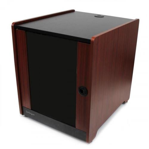 RKWOODCAB12 Серверный шкаф Startech 12U Rack Enclosure Server Cabinet - 20.6 in. Deep - Wood Finish - Flat Pack