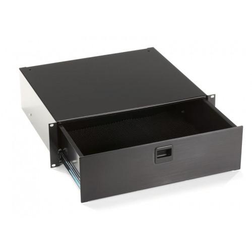RMMT18 Выдвижной ящик Black Box 3U Black Rackmount Media Storage Drawer