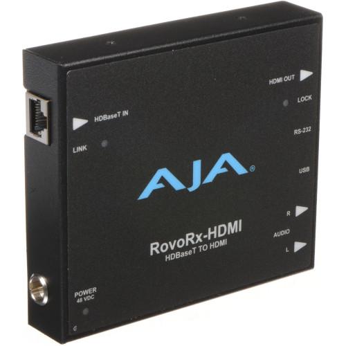 ROVORX-HDMI приемник видеосигнала AJA RovoRX-HDMI HDBaseT to HDMI Receiver