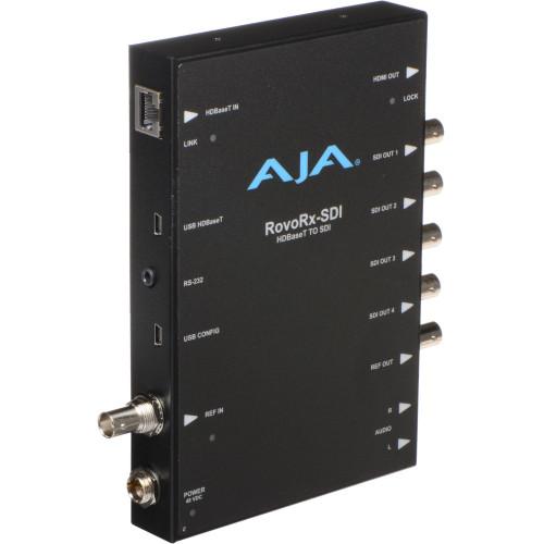 ROVORX-SDI приемник видеосигнала AJA UltraHD/HD HDBaseT Receiver with 6G/3G-SDI & HDMI Outputs for RovoCam Camera