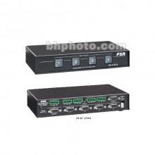 SN-4100A Видео коммутатор FSR SN-4100A 4x1 VGA Switcher with Stereo Audio - HD-15, Screw Terminal Blocks