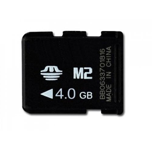 Карта памяти Silicon Power Memory Stick Micro (M2) 4GB (SP004GBM2C000V10)