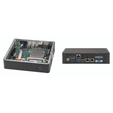 SYS-E200-9AP Неттоп-платформа Supermicro Barebone Mini-ITX Rackmount SuperServer, Intel Atom Processors, System-on-Chip, Up to 8GB DDR3 Non-ECC 1866Mhz, 1x 2.5in drive bays