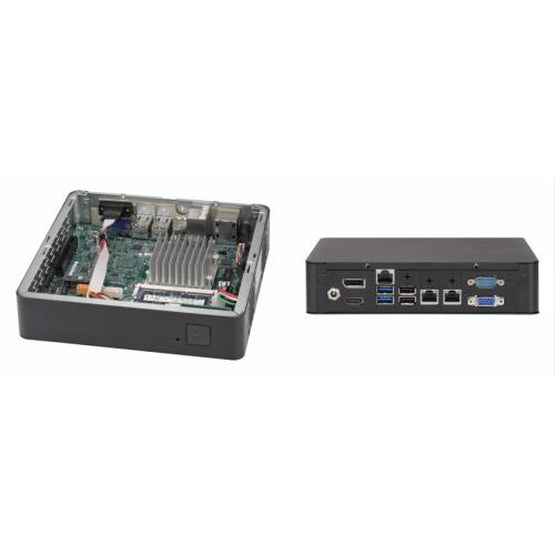 SYS-E200-9AP Неттоп-платформа Supermicro Barebone Mini-ITX Rackmount SuperServer, Intel Atom Processors, System-on-Chip, Up to 8GB DDR3 Non-ECC 1866Mhz, 1x 2.5in drive bays