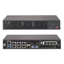 SYS-E300-9A Неттоп-платформа Supermicro Barebone Mini-1U Rackmount SuperServer, Intel Atom Processors, System-on-Chip, Up to 64GB DDR4 Non-ECC 2400Mhz memory, 2.5in drive bays