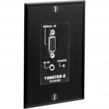 T2-DTXW-BLK передатчик видеосигнала FSR IR/Data Transmitter w/Wall Plate (Black)