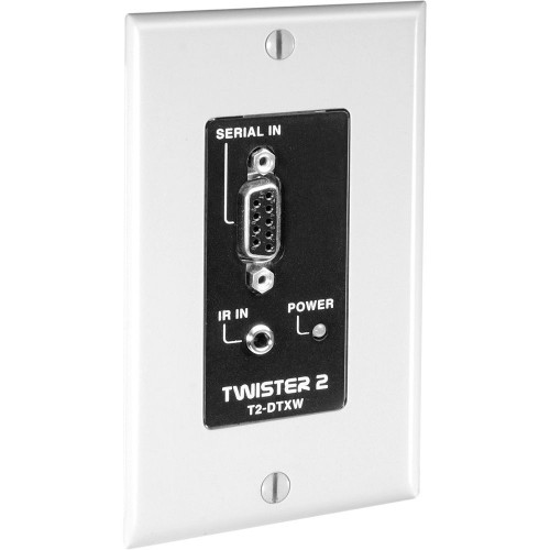 T2-DTXW-WHT передатчик видеосигнала FSR IR/Data Transmitter w/Wall Plate (White)