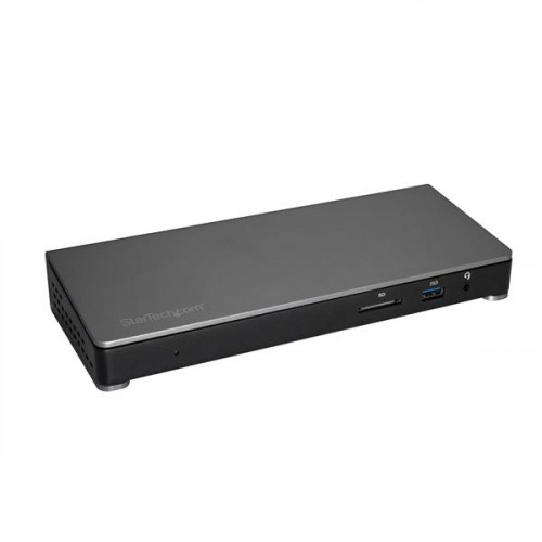 TB3DOCK2DPPD Док-станция Startech Thunderbolt 3 Dock with SD Card Reader - Dual-4K - 85W USB Power Delivery