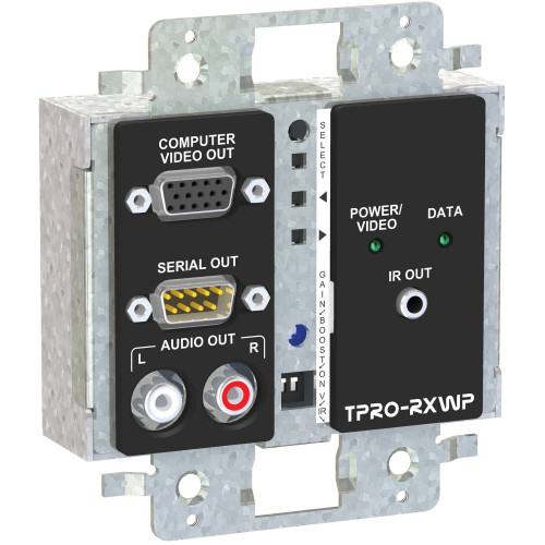 TPRO-RXWPD-IVO приемник видеосигнала FSR 2-Gang Wall Plate Receiver (Ivory)