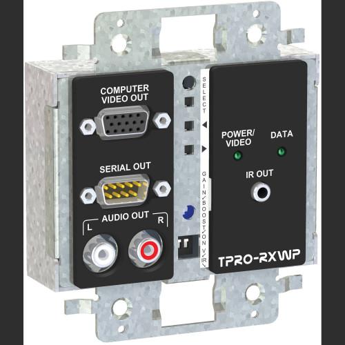 TPRO-RXWPDS-WHT приемник видеосигнала FSR 2-Gang Wall Plate Receiver (White)
