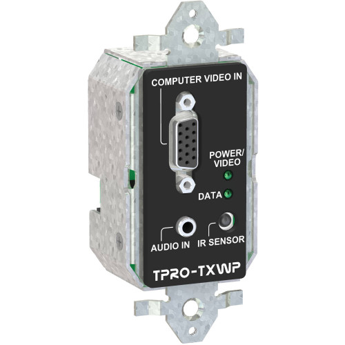TPRO-TXWP-WHT передатчик видеосигнала FSR 1-Gang Wall Plate Transmitter (White)