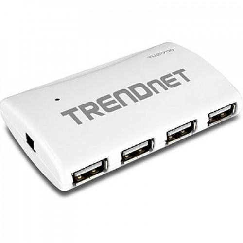 USB концентратор (хаб) с 7 портами TRENDnet TU2-700