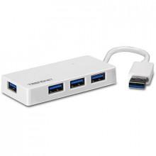 4-портовый концентратор USB 3.0 TRENDnet TU3-H4E