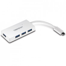 4-портовый концентратор USB-C to 4-Port USB 3.0 TRENDnet TUC-H4E