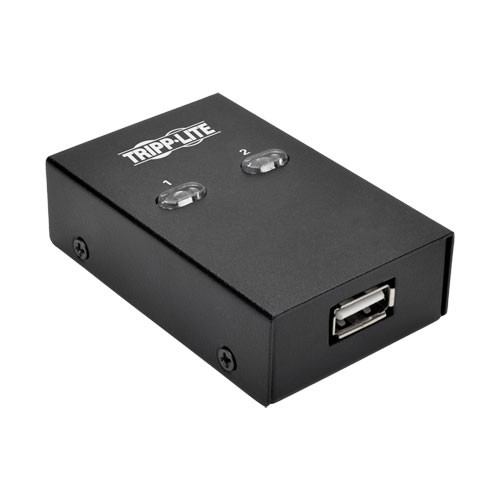 U215-002 USB Переключатель Tripp Lite 2-Port USB 2.0 Hi-Speed Printer/Peripheral Sharing Switch