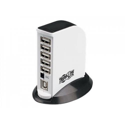 U222-007-R USB Концентратор Tripp Lite 7-Port USB 2.0 Hub with Base Stand