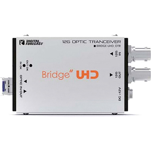 UHD-OTR Видео удлинитель/репитер DIGITAL FORECAST Bridge UHD OTR Bidirectional 12G Optic Transceiver