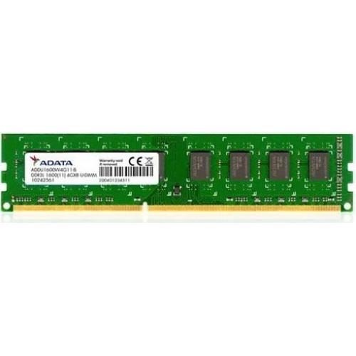 Оперативная память A-DATA Value DIMM 4GB DDR3L-1600MHz CL9 (ADDU1600W4G11-B)