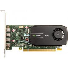 VCNVS510DVI-PB Видеокарта PNY Quadro NVS 510 for Quad DVI, 2GB DDR3, 4x Mini DisplayPort