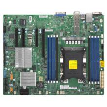 X11SPH-NCTPF Материнская плата Supermicro Intel Xeon Single Socket P (LGA 3647) Intel C622 Up to 1TB ECC 3DS LRDIMM Up to DDR4-2666MHz