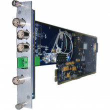 XIO 9080HDEOP-T-3U передатчик видеосигнала GRA-VUE XIO 9080HDEOP SDI to Fiber Transmitter (3RU)