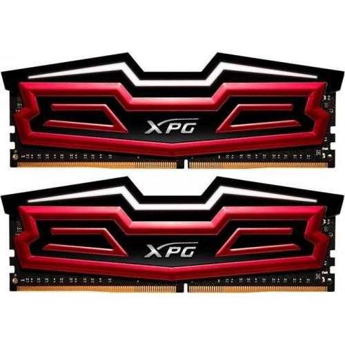 Оперативная память A-DATA XPG Dazzle LED DIMM Kit 16GB DDR4-2400 CL16-16-16-39 (AX4U2400W8G16-DRD)